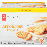 Arrowroot Cookies, Club Pack