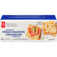Crackers, English Cream