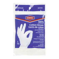 Cotton Gloves, Medium