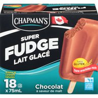 Lait glacé Super Fudge au chocolat