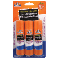 School Glue Sticks, Disappearing Purple