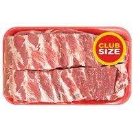 Pork Side Ribs, Club Pack