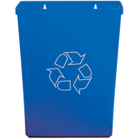 Blue Recycle Bin, 15L