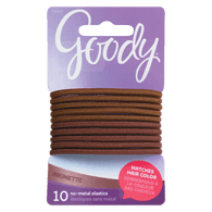 Ouchless Elastics 4mm, Brown