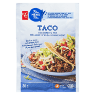 Blue Menu Taco Seasoning, 30% Less Salt