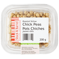 Roasted Yellow Chick Peas
