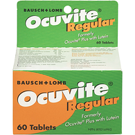 Ocuvite, Regular
