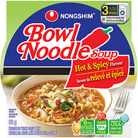 Bowl Noodle, Hot & Spicy (Case)