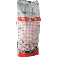 White Jumbo Potatoes (50lb Case)