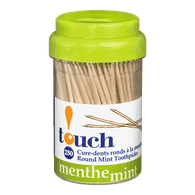 Paper Wrapped Toothpicks, Mint