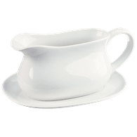 Bistro Gravy Boat with Saucer
