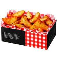 Spiced Potato Wedges, Large