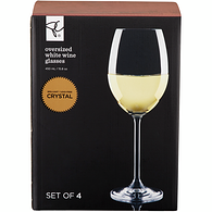 Large White Wine Glass 4-Pack