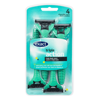 Triple Blade Disposable Razors, Men's