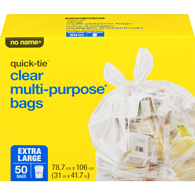 Quick-Tie Lawn & Garden Bags, Extra Large