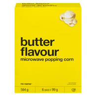 Microwave Popping Corn, Butter Flavour