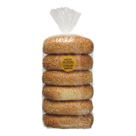 Bagels, Sesame Seed Package of 6