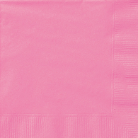 Lunch Napkins, Hot PInk