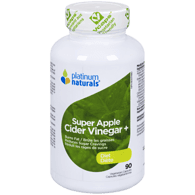 Platinum Super Apple Cider Vinegar + Diet