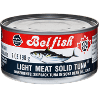 Light Meat Solid Tuna