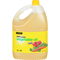 100% Pure Vegetable Oil