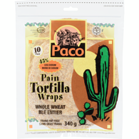 Paco Whole Wheat Tortilla Wrap