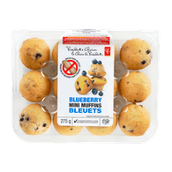 Mini Muffins, Blueberry
