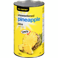 Pure Pineapple Juice, Unsweetened