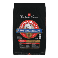 Extra Meaty Dog Food, Lamb & Brown Rice