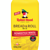 Bread & Roll Mix, White