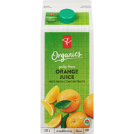 100% Florida Orange Juice, Pulp Free
