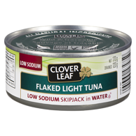 Flaked Light Tuna, In Water, Low Sodium