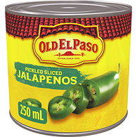Pickled, Sliced Jalapeños