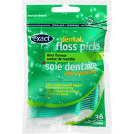 Dental Floss Picks, Mint