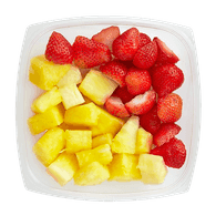 Fresh Pineapple & Strawberries