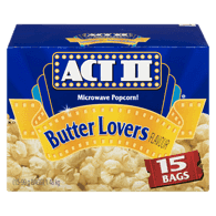 Microwave Popcorn, Butter Lovers
