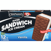 Super Sandwich Ice Cream, Vanilla