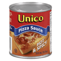 Pizza Sauce, Hot & Spicy