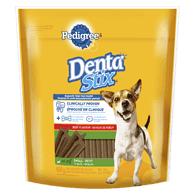 Dentastix Dog Treats, Small, Beef Flavour