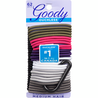 Ouchless Hair Elastics with Clip