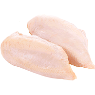 Chicken Breast Club Pack, Skin On with Bone