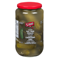 Full Sour Kosher Dill Pickles