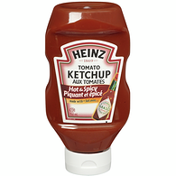 Hot & Spicy Ketchup, Upside Down Squeeze Bottle