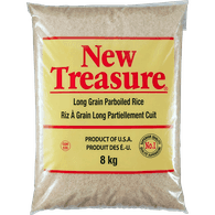 New Treasure Long Grain Parboiled Rice