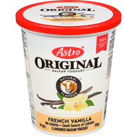 Original Balkan Style Yogurt, French Vanilla