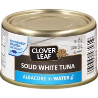 Tuna, White Solid in Water