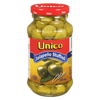 Olives, Stuffed with Jalapeno