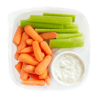 Carrot Celery Sticks and Dip