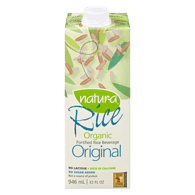 Organic Rice Beverage, Enriched Original