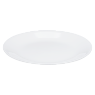 Winter Frost Salad Plate, White